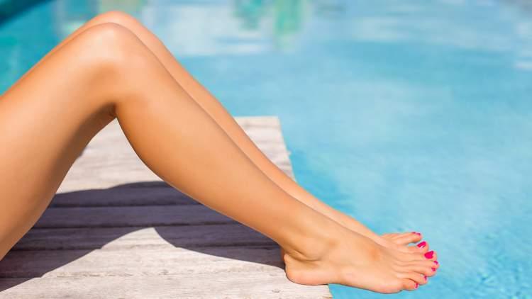 come avere gambe lisce e belle