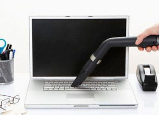 pulire il computer portatile