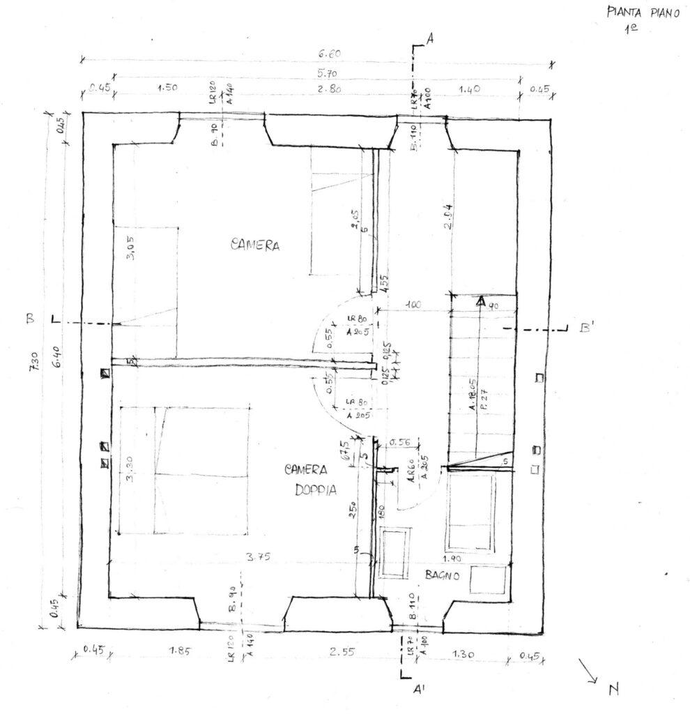 Come calcolare i metri quadrati di una casa for 1250 piedi quadrati di casa