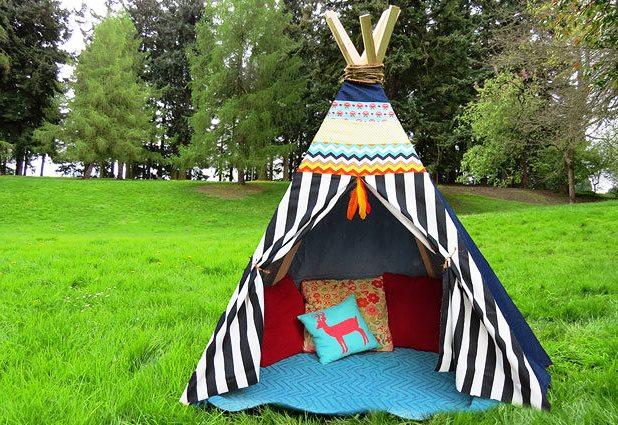 Come fare una capanna degli indiani for Comprare capanna scozzese