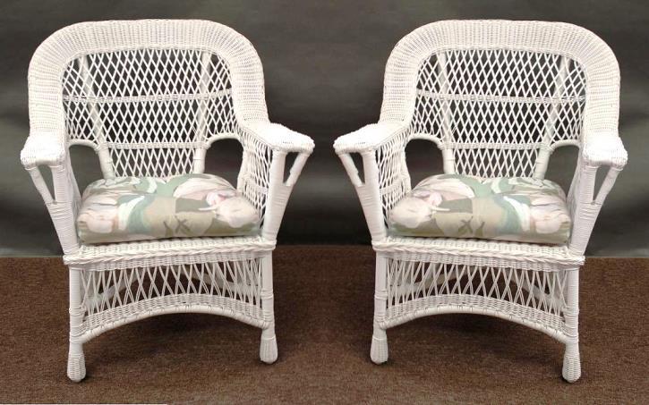 Sedie In Rattan Da Interno : Come pulire e riverniciare una sedia di vimini