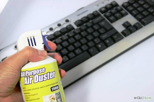 Come pulire la tastiera del computer - Nettoyer clavier pc portable ...