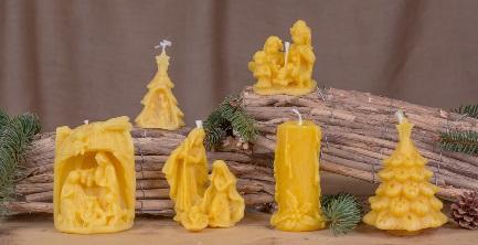 Come fare le candele con la cera d 39 api - Candele fatte in casa ...