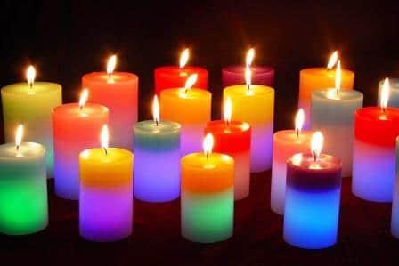 come-decorare-casa-candele