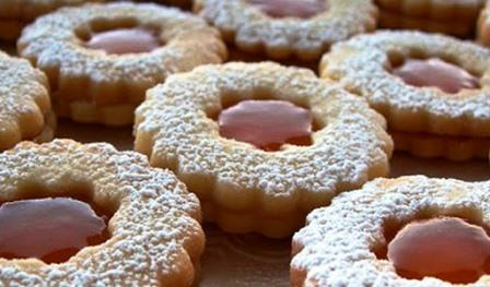 come fare biscotti occhi di bue