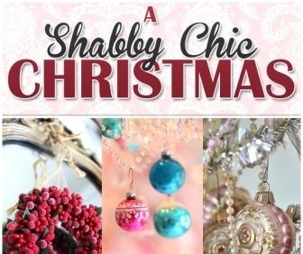 Decorazioni natalizie in stile shabby chic - Decorazioni natalizie stile shabby chic ...