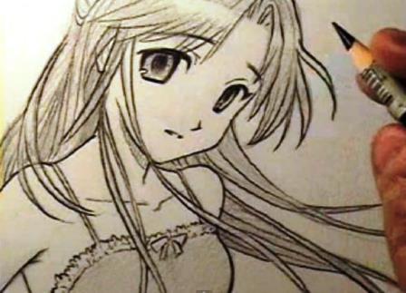 Come disegnare una ragazza manga - Come disegnare immagini di halloween ...