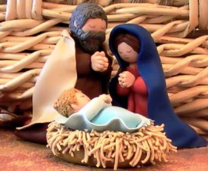 come fare presepe in fimo