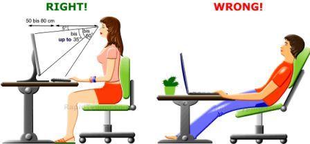 Come Avere Una Postura Corretta Davanti Al Computer