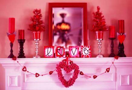 san valentino decorazioni romantiche