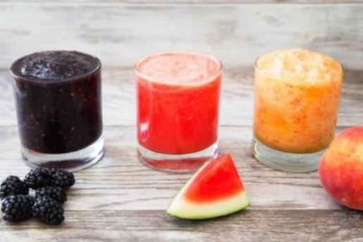 Granite alcoliche con frutta