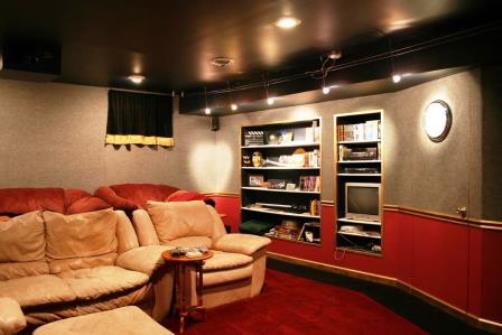 Come fare una sala cinema in casa - Realizzare sala cinema in casa ...