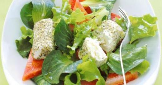 ricetta-rotolini-caprino-anguria-insalata