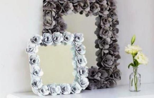 Come decorare uno specchio - Gioco specchio da decorare ...