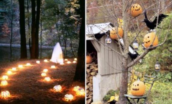 Come fare delle decorazioni per halloween casa for Decorazioni halloween casa