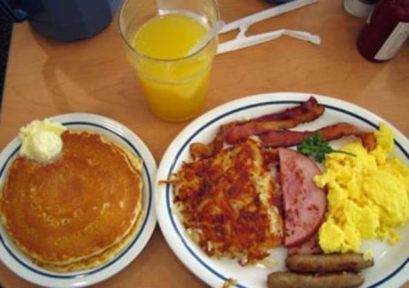 Favorito Come preparare una colazione americana SF96