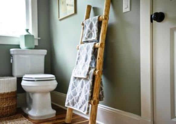 Come rinnovare le pareti di casa - Porta asciugamani da parete ...
