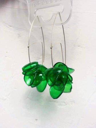 riciclo-plastica-orecchini