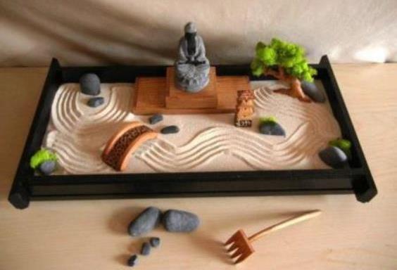 Regali natalizi fai da te il piccolo giardino zen for Dove comprare giardino zen da tavolo