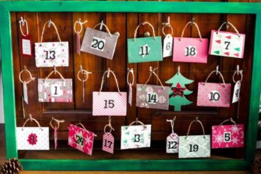 Diy Calendar For Boyfriend : Come fare un calendario dell avvento fai da te