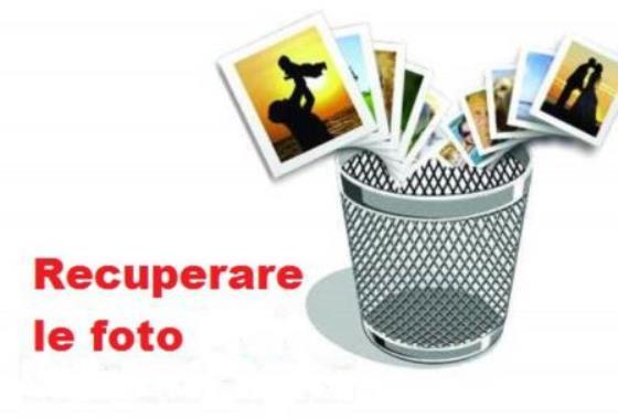Recuperare foto cancellate dalla fotocamera digitale
