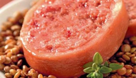 Ricetta zampone lenticchie scopri come fare - Come cucinare le lenticchie con cotechino ...