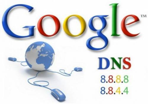 server dns di google