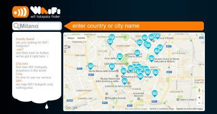 trovare reti wifi libere