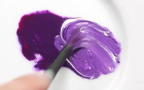 unire colori viola