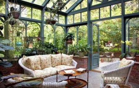 Come arredare un giardino d inverno casa - Arredare giardino d inverno ...