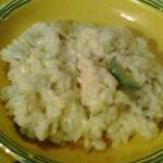 riso con zucchine e gamberetti