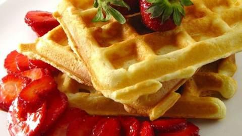 ricetta waffle colazione