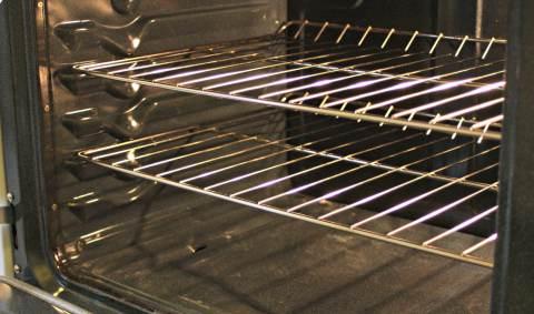 pulizia griglia del forno