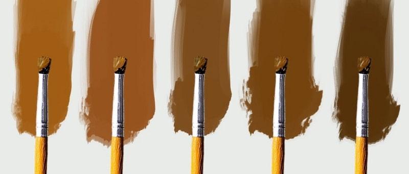 come fare il colore marrone