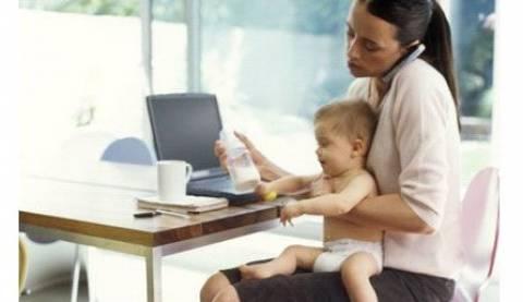 lavorare con i figli