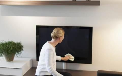 pulizia televisore led