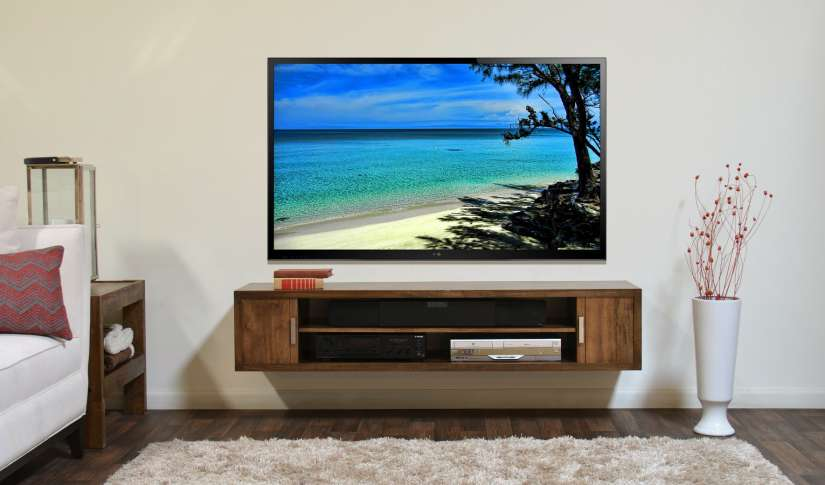 televisore a parete