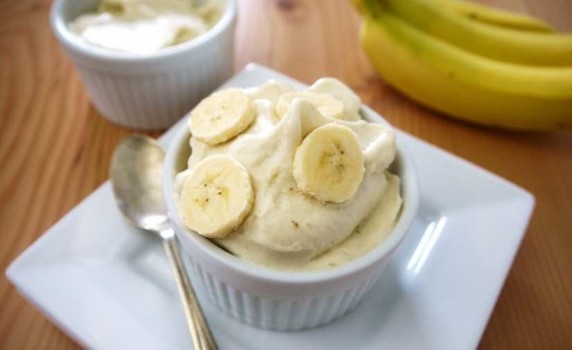 ricetta del gelato alla banana