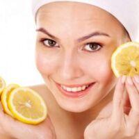 maschera con yogurt e limone