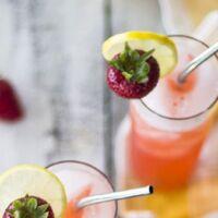 ricetta limonata con fragole