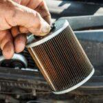sostituire filtro della moto