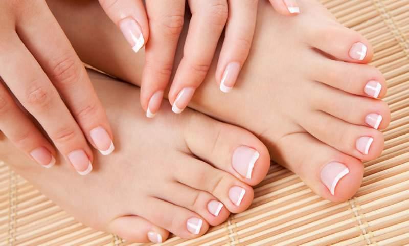 crema di bellezza per i piedi