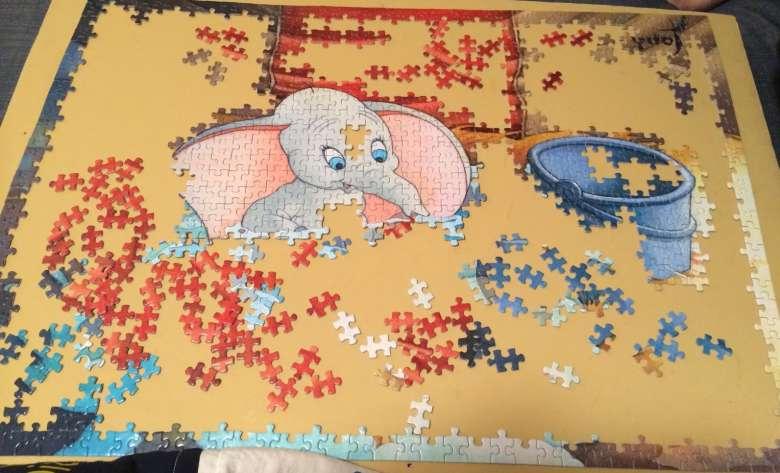 incorniciare puzzle