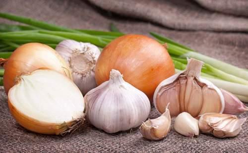 rimedi naturali con aglio e cipolla