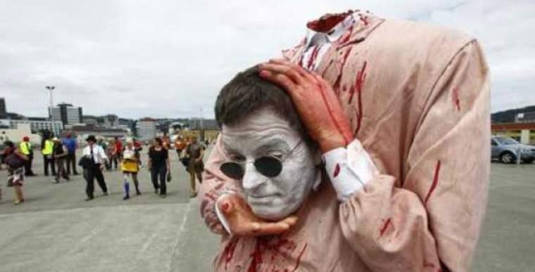 senza testa maschera halloween