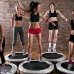 attività fisica con il tappeto rebounding
