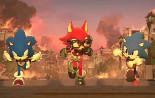 giocare a sonic forces