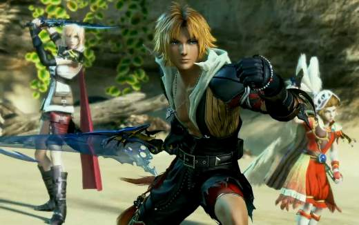 gameplay Dissidia Final Fantasy NT