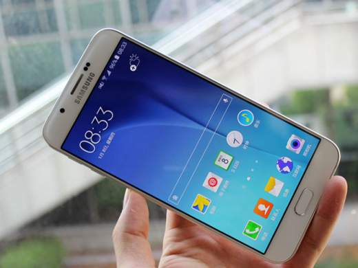 display samsung galaxy a8