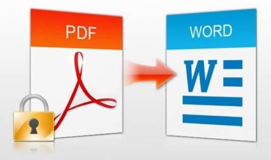 pdf bloccato copiare testo